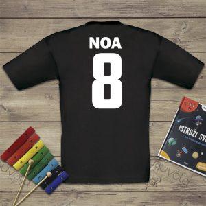 Dječja majica – broj s imenom