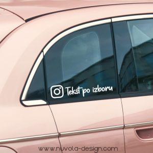 Instagram naljepnica 2
